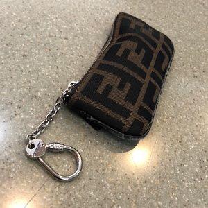 Authenic Fendi Coin/Card/Key Holder
